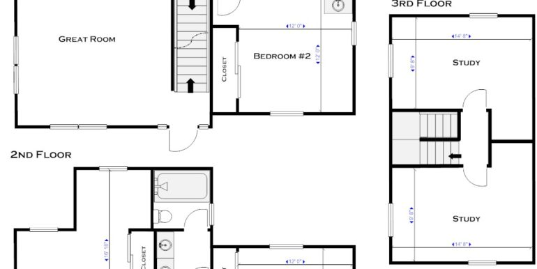 909 Sylvan floor plan