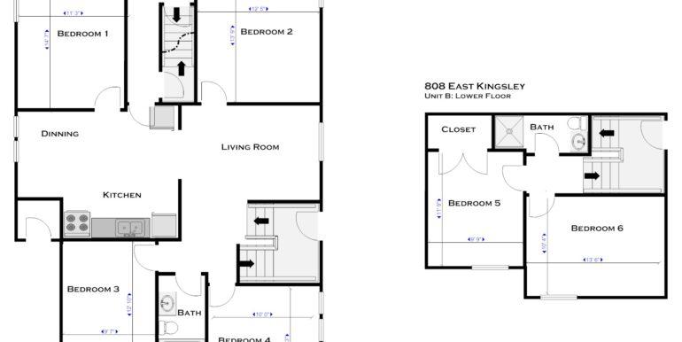 808-B floor plan